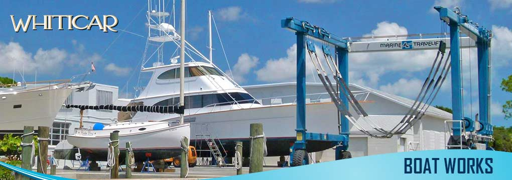 Boat restoration in Vero Beach
